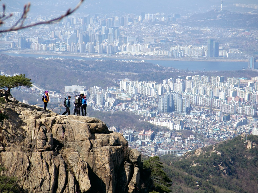 View from Gwanaksan mountain